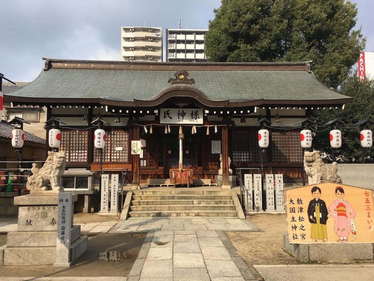 敷津松之宮,大国主神社
