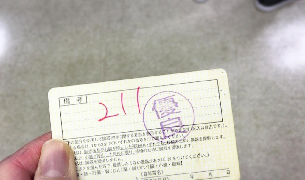 運転免許証更新の流れ