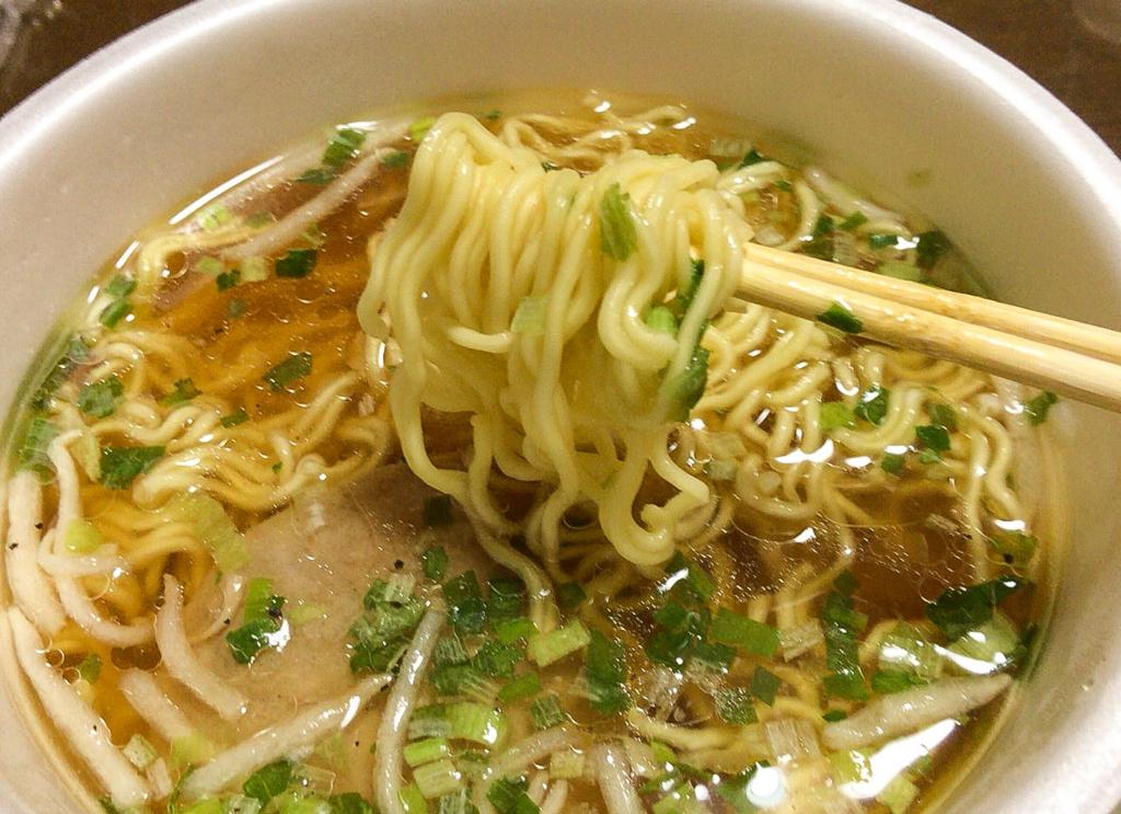 カップ麺「鳥取ゴールド」実食