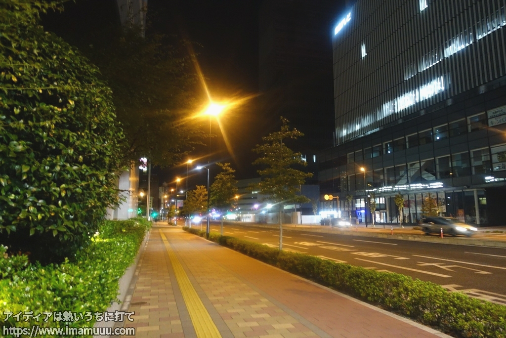 広島駅付近の風景