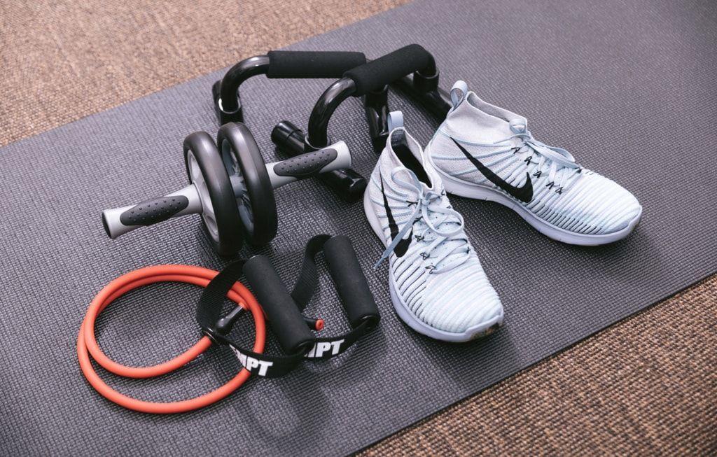 スポーツジムで体脂肪や筋肉量を測定