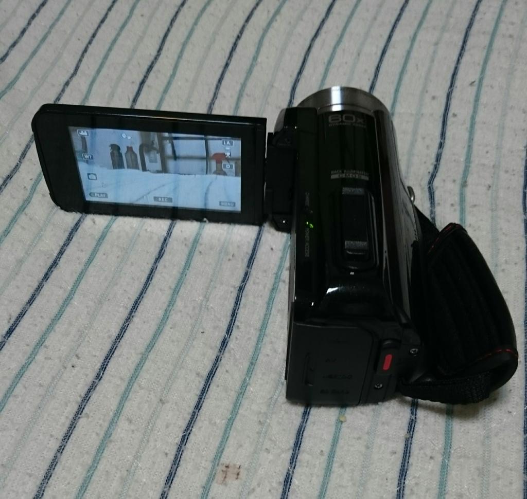 KENWOOD JVC ビデオカメラ