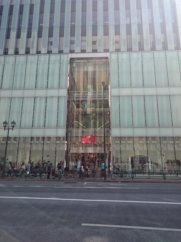 H&M新宿店