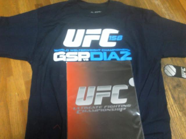 UFC158 GSP VS DIAZ