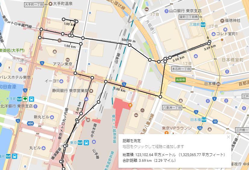 大手町から東京駅