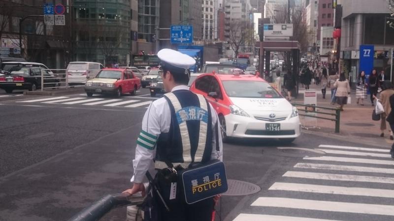警視庁の交通整理