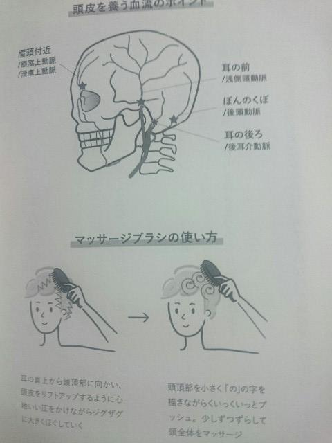 頭皮血流マッサージ