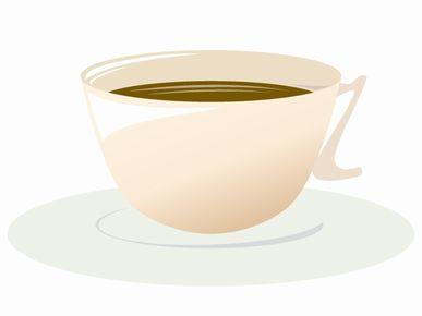 コーヒーは、砂糖を入れずにブラック