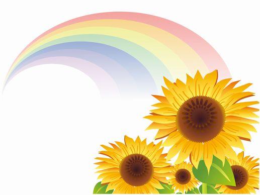 虹の色の順番は、内側から「紫藍青緑黄橙赤」