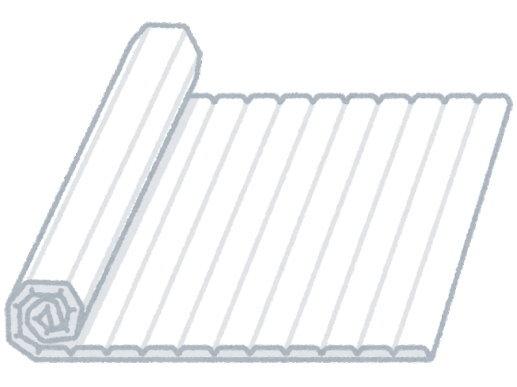 お風呂の蓋(ふた)などをカビにくくする方法は、「外に干す」