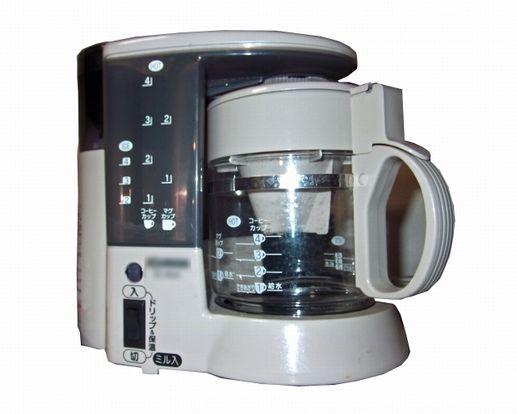 コーヒーメーカーは、使ってみたらとっても便利でした