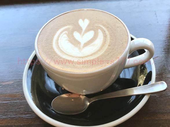 ヒルビリーコーヒーカンパニーのカフェラテは、クリーミー