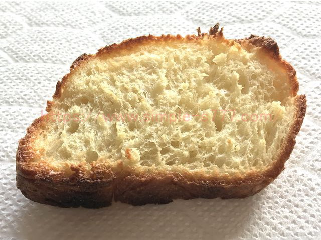 象印のオーブントースター「こんがり倶楽部」(ET-GM30)で焼いた後のパン その2