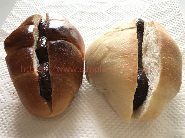 麹スイーツチョコをロールパンにはさんでみました