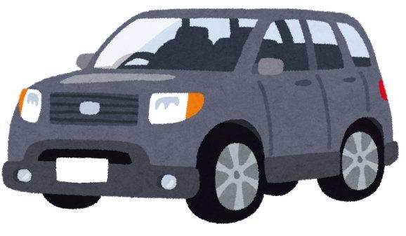 SUVは、ボディが大きいので、気を使う場面が多い