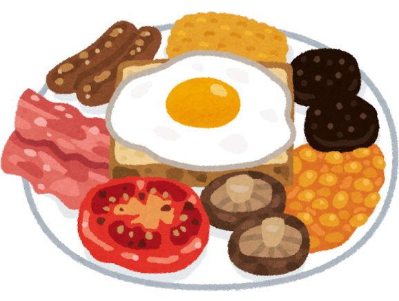 ダイソーの耐熱皿なら、オーブントースターでパンと卵が一緒に焼けます