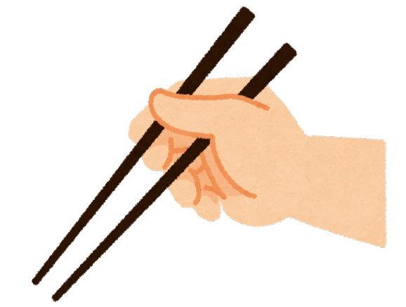 お箸を買うときは、先端と強度のチェックを