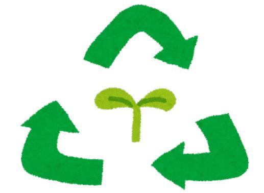 モバイル機器は、リサイクル