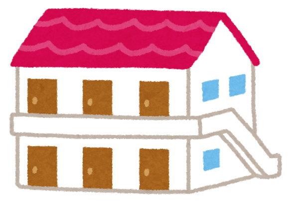 アパート暮らしが、いらない物を保管する損失の計算の前提条件