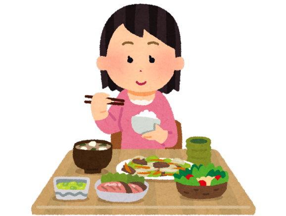 1日トータルでバランスの良い食事に考え方を変更
