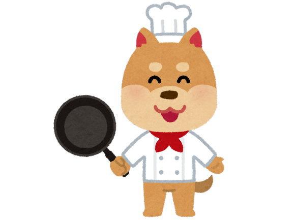 愛犬の手作りご飯は、冷凍をうまく利用しています