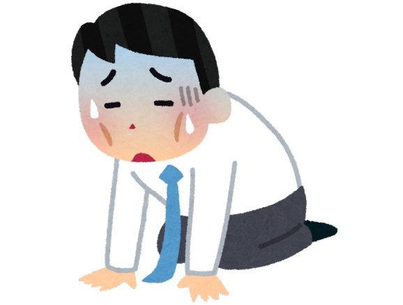過労死ラインよりも働くと、体と心がおかしくなる