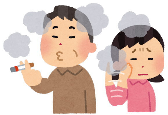 禁煙したら、周りの人に迷惑をかけなくなりました