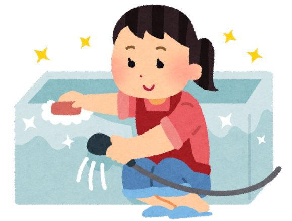 入浴後すぐなら、お風呂掃除がそれほど嫌じゃなくなりました