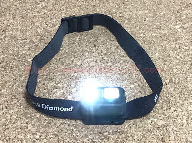 10m以上先まで光が届く高光度タイプのLEDヘッドライト