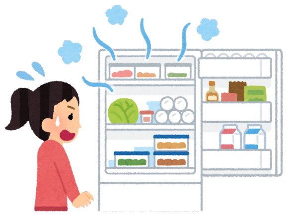 3日間の停電で冷蔵庫&冷凍庫の中がずっと心配でした