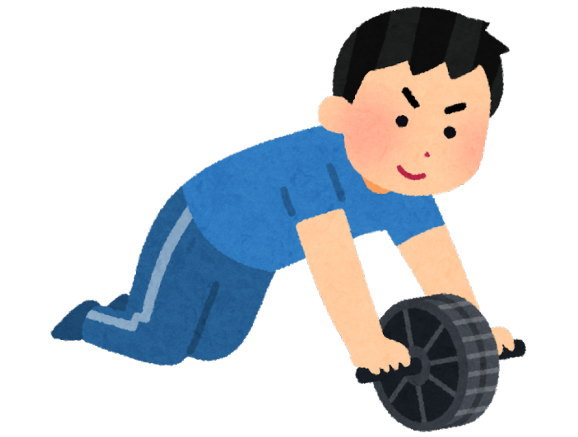 体力評価をしたところ、私は筋力不足のようです