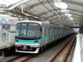 東京メトロ南北線の9822編成(元住吉)
