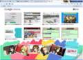 Google chrome のテーマ ギャラリー(けいおん)