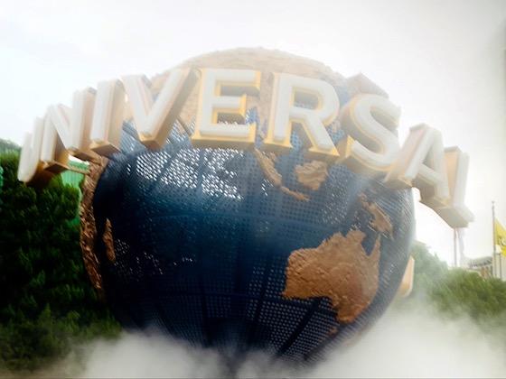 ユニバーサルスタジオジャパンの大きな地球儀