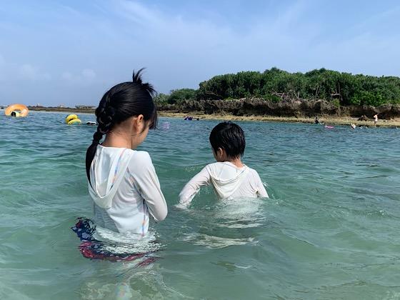 備瀬崎の海の景色