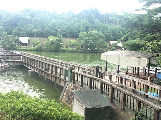 岡山県大芦高原大芦池