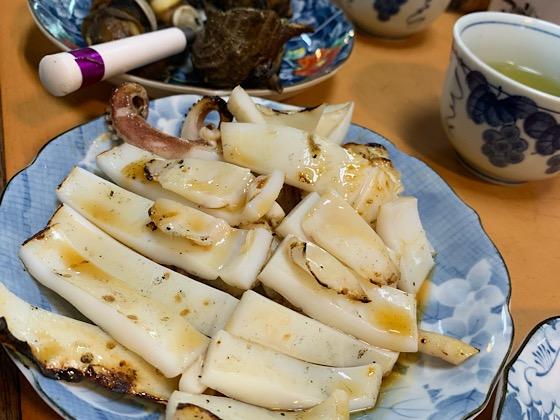 波戸岬イカの醤油タレ焼き