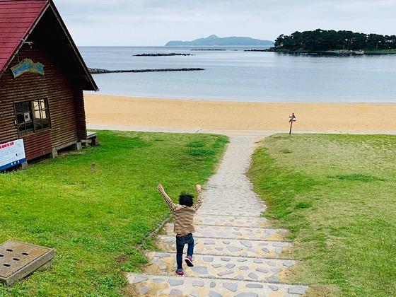 波戸岬の海