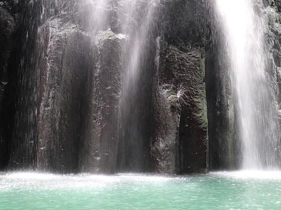 高千穂峡美しい滝