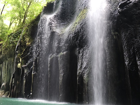 高千穂峡の滝