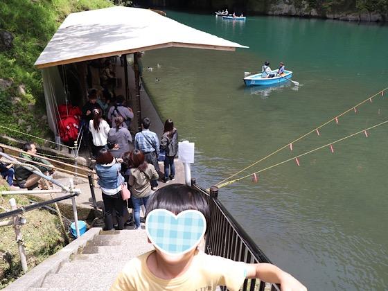 高千穂峡ボート乗り場