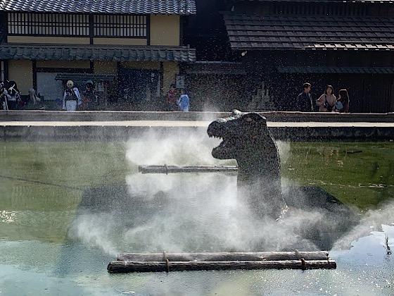 映画村恐竜