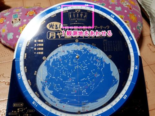 星座早見板の全体図