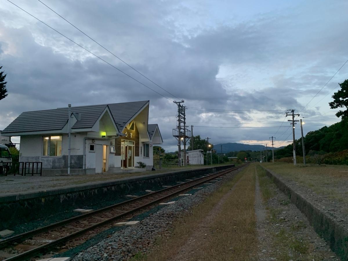 有珠駅 無人駅 北海道