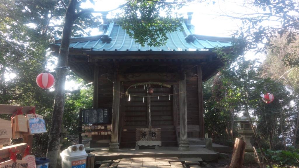 淡島神社 頂上