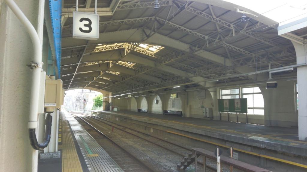 鶴見駅 ホーム