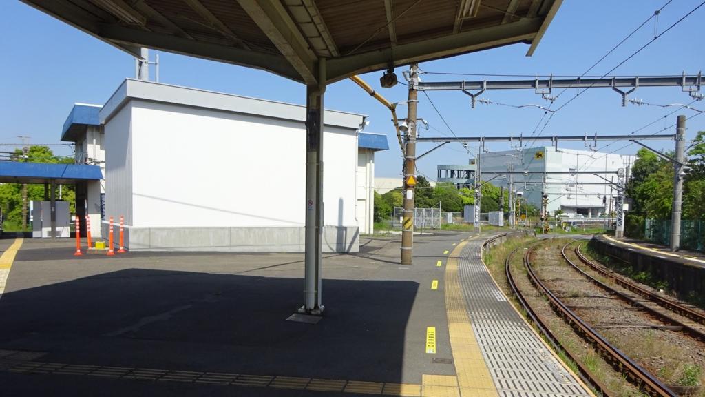 浅野駅ホーム
