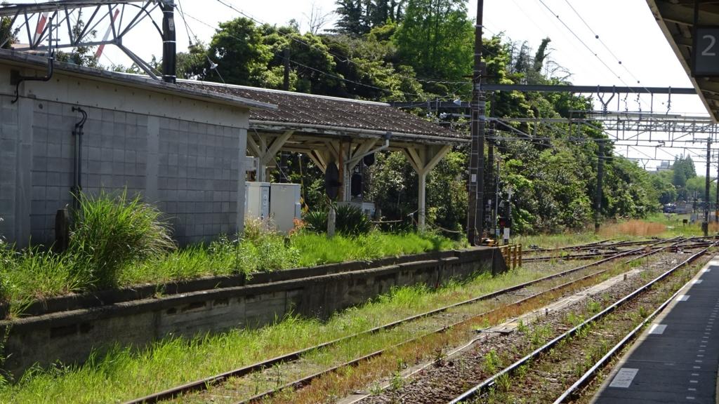浅野駅 草