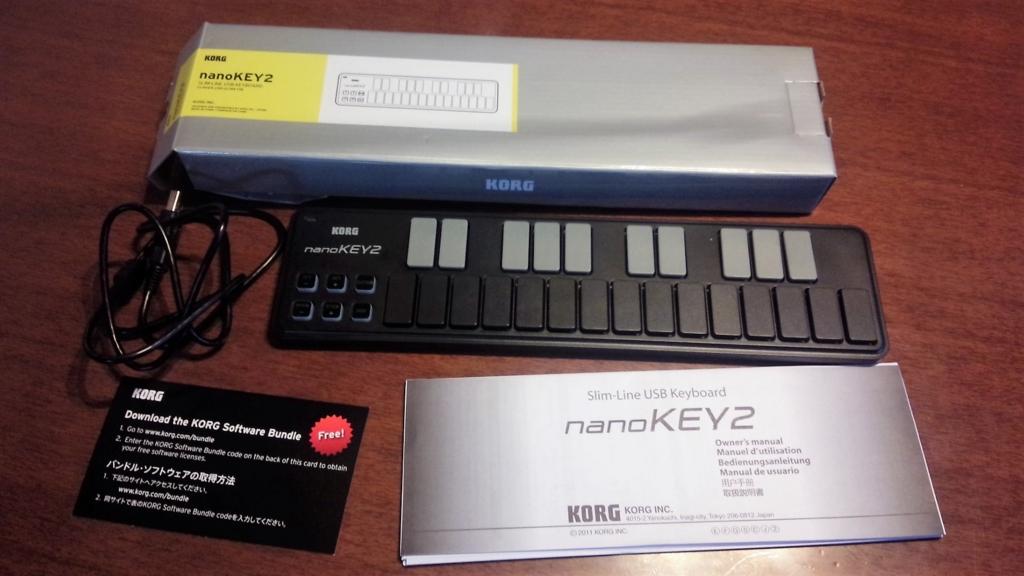 KORG nanoKEY2 付属品