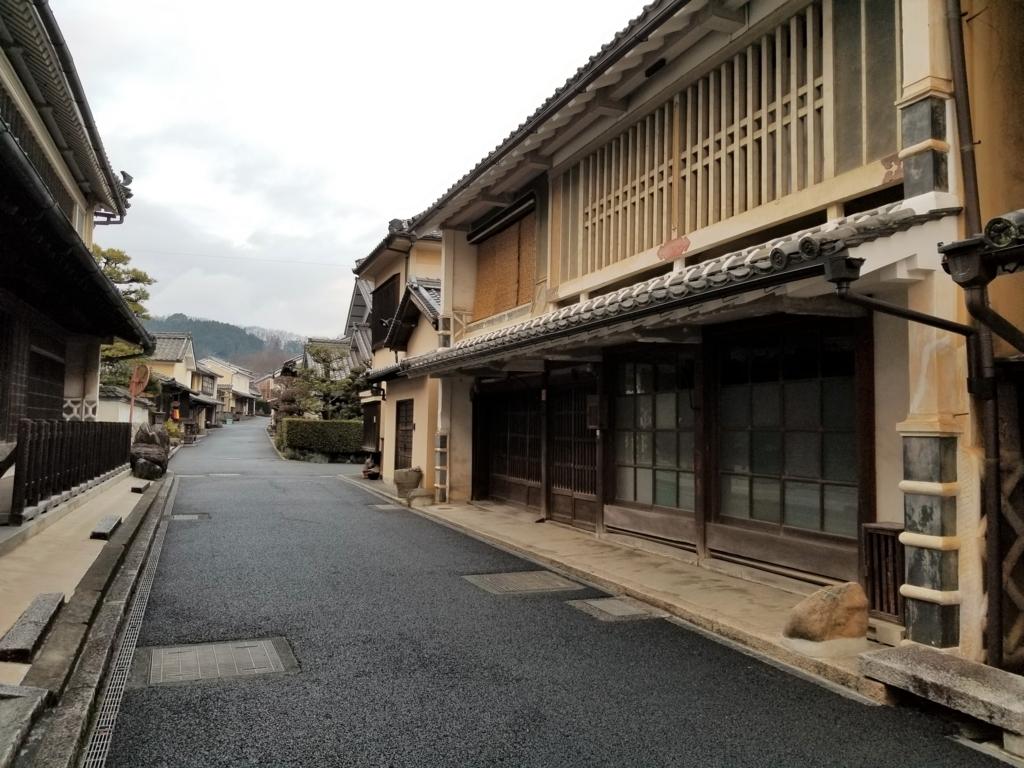 内子の伝統的街並み